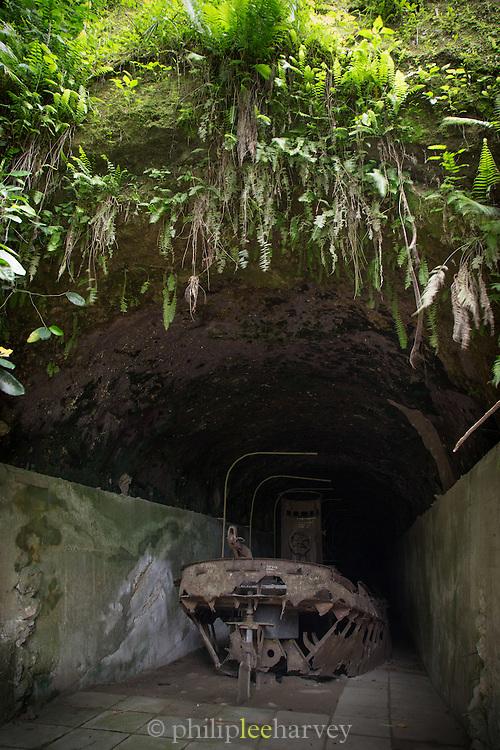 Japanese barge tunnels, Karavia Bay, East New Britain, Papua New Guinea
