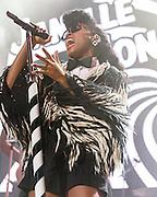 Janelle Monae performs at the 2016 Summer Spirit Festival at Merriweather Post Pavilion.