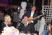 Hayley Roberts; David Hasselhoff; JASON KING; GYPSY QUEENS, Grey Goose Winter Ball to benefit the Elton John Aids Foundation. Battersea Power Station. London. 10 November 2012.