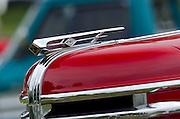 Diamond T Pickup Truck Hood Ornament,Keeneland Concours D'Elegance,Lexington,Ky.