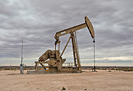 OIl well in  New Mexico's Permain Basin.