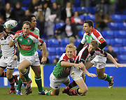 Reading, GREAT BRITAIN, [L] Mike CATT, during the third round Heineken Cup game, London Irish vs Ulster Rugby, at the Madejski Stadium, Reading ENGLAND, Sat 09.12.2006. [Photo Peter Spurrier/Intersport Images]