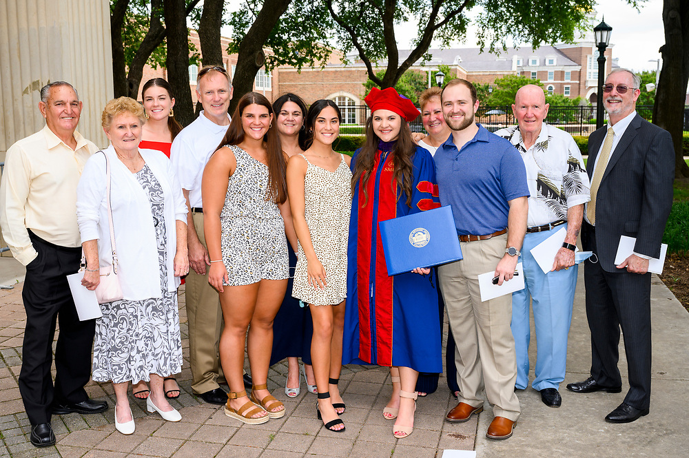 New graduates of the Dedman School of Law attend graducation, Saturday, May 15, 2021 in Moody Coliseum on the SMU Campus.