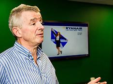Michael O'Leary announces new Ryanair routes for 2017 | Edinburgh | 7 September 2016