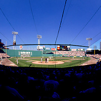 Famous Fenway Park, home to the American League's Boston Red Sox. Opened April 20, 1912