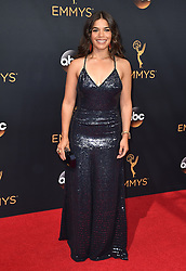 America Ferrera attends the 68th Annual Primetime Emmy Awards at Microsoft Theater on September 18, 2016 in Los Angeles, CA, USA. Photo by Lionel Hahn/ABACAPRESS.COM