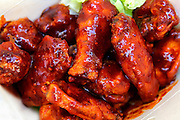 barbecued chicken wings, Take away fast food