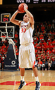 CHARLOTTESVILLE, VA- NOVEMBER 13: Thomas Rogers #30 of the Virginia Cavaliers shoots the ball during the game on November 13, 2011 at the John Paul Jones Arena in Charlottesville, Virginia. Virginia defeated South Carolina State 75-38. (Photo by Andrew Shurtleff/Getty Images) *** Local Caption *** Thomas Rogers