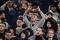 Football - 2021 / 2022 UEFA Europa League - Group H - Round Two - West Ham United vs Rapid Vienna - London Stadium - Thursday 30th September<br /> <br /> West Ham United fans taunt Rapid Vienna fans after the opening goal by Declan Rice.<br /> <br /> COLORSPORT/Ashley Western