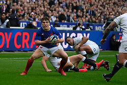 February 2, 2020, Saint Denis, Seine Saint Denis, France: The scrum-half of French Team ANTOINE DUPONT in action during the Guinness Six Nations Rugby tournament between France and  England at the Stade de France - St Denis - France.. France won 24-17 (Credit Image: © Pierre Stevenin/ZUMA Wire)