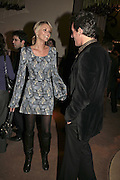 Malin Johansson and Tim Jefferies, THE CHRISTMAS PARTY CELEBRATING THE 225TH ANNIVERSARY OF ASPREY. 167 NEW BOND ST. LONDON W1. 7 DECEMBER 2006. ONE TIME USE ONLY - DO NOT ARCHIVE  © Copyright Photograph by Dafydd Jones 248 CLAPHAM PARK RD. LONDON SW90PZ.  Tel 020 7733 0108 www.dafjones.com