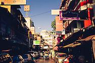 Chinatown Street Bangkok Thailand