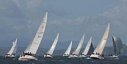 Pelle P Kip Regatta 2017 run by Royal Western Yacht Club at Kip Marina on the Clyde. <br /> <br /> Sigma 33 fleet with 1685C, Rajah, Roy Summers ,CCC/RNCYC<br /> <br /> Image Credit Marc Turner