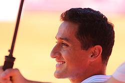 May 2, 2017 - Estoril, Estoril, Portugal - NICOLAS ALMAGRO from SPAIN in action during the match Nicolas Almagro between Benoit Paire for Millennium Estoril Open at Clube de Tenis do Estoril on May 2, 2017 in Estoril, Portugal. (Credit Image: © Dpi/NurPhoto via ZUMA Press)