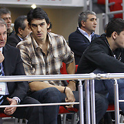Kerem GONLUM during their Turkish Basketball League match Anadolu Efes between Aliaga Petkim at Aliaga Arena in Istanbul, Turkey, Sunday, October 23, 2011. Photo by TURKPIX