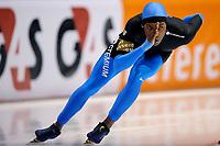 13-11-2009 schaatsen world cup heerenveen - shani davis wint de 1500 meter