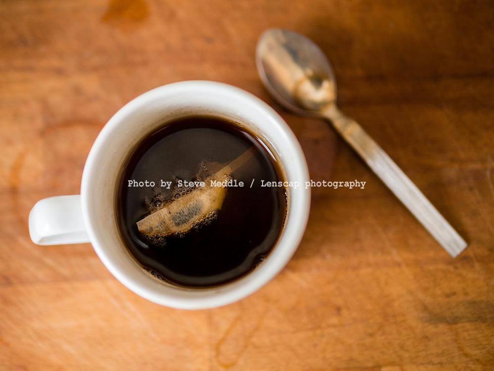 Mug of Tea Being Made - Mar 2015.