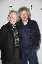 April 12, 2018 - Berlin, Germany - Klaus Voormann, Wolfgang Niedecken.Echo Pop Verleihung, Berlin, Germany - 11 Apr 2018.Credit: MichaelTimm/face to face (Credit Image: © face to face via ZUMA Press)