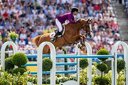 DINIZ Luciana (POR), Fit For Fun 13<br /> Aachen - CHIO 2019<br /> Rolex Grand Prix 1. Umlauf<br /> Teil des Rolex Grand Slam of Show Jumping, Der Große Preis von Aachen. Springprüfung mit zwei Umläufen und Stechen <br /> 21. Juli 2019<br /> © www.sportfotos-lafrentz.de/Stefan Lafrentz