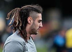 Cardiff Blues' Josh Navidi during the pre match warm up<br /> <br /> Photographer Simon King/Replay Images<br /> <br /> Guinness Pro14 Round 11 - Dragons v Cardiff Blues - Tuesday 26th December 2017 - Rodney Parade - Newport<br /> <br /> World Copyright © 2017 Replay Images. All rights reserved. info@replayimages.co.uk - www.replayimages.co.uk