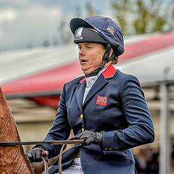 Pippa Funnell Badminton Horse trials Gloucester England UK May 2019. Pippa Funnell equestrian eventing representing Great Britain riding Majas Hope in the Badminton horse trials 2019 Badminton Horse trials 2019 Winner Piggy French wins the title