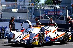 June 17, 2017 - Le Mans, Sarthe, France - TDS Racing Oreca 07 rider FRANCOIS PERRODO (FRA) on the grid before the race of the 24 hours of Le Mans on the Le Mans Circuit - France (Credit Image: © Pierre Stevenin via ZUMA Wire)