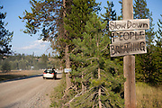 Polebridge, Glacier National Park, Montana.