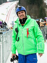 Srecko Medven during 2nd Run of Men Slalom race of FIS Alpine Ski World Cup 54th Vitranc Cup 2015, on March 15, 2015 in Kranjska Gora, Slovenia. Photo by Vid Ponikvar / Sportida