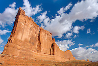 Courthouse Tower, Arches National Park Utah USA