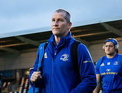 Coach Stuart Lancaster of Leinster arrives at the stadium<br /> <br /> Photographer Simon King/Replay Images<br /> <br /> Guinness PRO14 Round 10 - Dragons v Leinster - Saturday 1st December 2018 - Rodney Parade - Newport<br /> <br /> World Copyright © Replay Images . All rights reserved. info@replayimages.co.uk - http://replayimages.co.uk