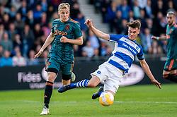 15-05-2019 NED: De Graafschap - Ajax, Doetinchem<br /> Round 34 / It wasn't really exciting anymore, but after the match against De Graafschap (1-4) it is official: Ajax is champion of the Netherlands / Donny van de Beek #6 of Ajax, Bart Straalman #2 of De Graafschap