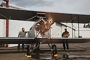 Waco 9 engine test at WAAAM.