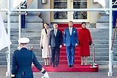 President van Polen brengt officieel bezoek aan Nederland