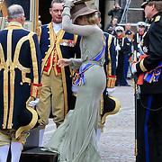 NLD/Den Haag/20110920 - Prinsjesdag 2011, vertrek kroonprins Willem - Alexander en Pr. Maxima