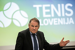 Marko Umberger during General Assembly of Slovenian Tennis Federation, on December 12, 2018 in Kristalna palaca, Ljubljana, Slovenia. Photo by Vid Ponikvar / Sportida