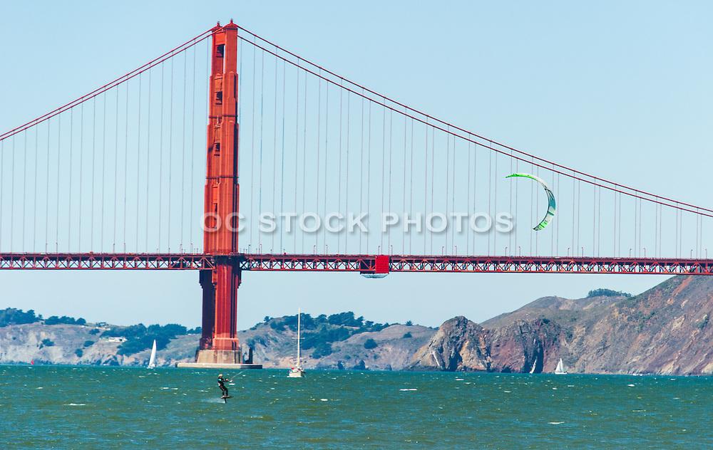 Kiteboarding in San Francisco Bay