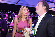 CELIA WALDEN; PIERS MORGAN, Preview for The London Motor Show, Battersea Evolution. London. 5 May 2016