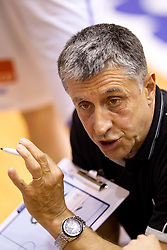 Head coach of Slovenia Boris Zrinski during  Eurobasket Women - Div. B 2013 Qualifications Game between National team of Slovenia and Sweden in 4th Round of Group A, on June 5, 2011 in  Arena Vitranc, Kranjska Gora, Slovenia. Slovenia defeated Sweden 70-63. (Photo By Vid Ponikvar / Sportida.com)