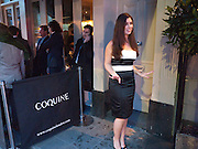KELLY ANNE LYONS, Coquine  launch. 160 old brompton rd. South Kensington. London. SW5  30 March 2010.