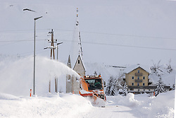 THEMENBILD - Schneefräse, am Freitag 11. Dezember 2020 in Kals // Snow blower on Friday, December 11 2020 in Kals. EXPA Pictures © 2020, PhotoCredit: EXPA/ Johann Groder