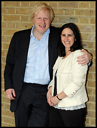 April 21, 2012 - London, United Kingdom - Photo filed Saturday 25th June 2016- Profile of Boris Johnson after The Prime Minister David Cameron Resigns Boris Johnson with his wife Marina in London, during the London Mayoral Campaign, Saturday April 21, 2012. (Credit Image: © Andrew Parsons/i-Images via ZUMA Wire)