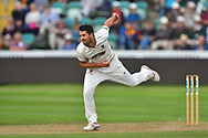 Tim Groenewald of Somerset bowling during the opening day of the Specsavers County Champ Div 1 match between Somerset County Cricket Club and Surrey County Cricket Club at the Cooper Associates County Ground, Taunton, United Kingdom on 18 September 2018.