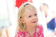 Sofia celebrates her 3rd birthday with family and friends in Portola Valley, California, on June 22, 2014. (Stan Olszewski/SOSKIphoto)