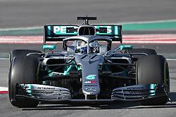 February 18, 2019 - Barcelona, Spain - the Mercedes of Valtteri Bottas during the Formula 1 test in Barcelona, on 18th February 2019, in Barcelona, Spain. (Credit Image: © Joan Valls/NurPhoto via ZUMA Press)