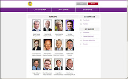 "© Licensed to London News Pictures . 08/12/2014 . UK . "" Before "" image . Screen grab from the UKIP website's "" Key People "" page prior to Roger Bird 's profile being removed . UKIP have suspended its general secretary Roger Bird following allegations of impropriety . Photo credit : Joel Goodman/LNP"