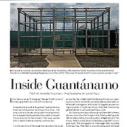 """Feature in The Atlantic """"State of the Union"""" issue with work from the Guantanamo Bay detention center."""