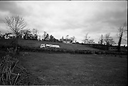 06-10/04/1964.04/06-10/1964.06-10 April 1964.Views on the River Shannon. Bringing the life-blood of the country's industries, an Irish Shell road tanker winds its way along flower strewn banks of the river Shannon near Drumshambo, Co Leitrim.