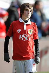 Bristol City mascot - Photo mandatory by-line: Dougie Allward/JMP - Mobile: 07966 386802 - 25/01/2015 - SPORT - Football - Bristol - Ashton Gate - Bristol City v West Ham United - FA Cup Fourth Round