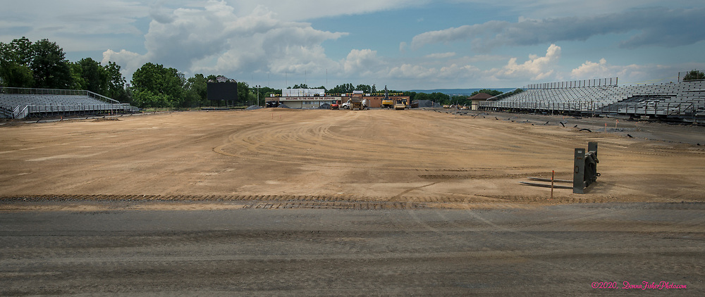 Whitehall High School gets major improvements to the football field and sports complex. Scenes along MacArthur Road in Whitehall Township, Lehigh County, Pa.. Picture made June, 2020.<br />  Donna Fisher Photography, LLC