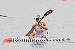 22.08.2015, Mailand, ITA, Kanu WM 2015, im Bild Max Hoff (Essen) belegt bei der WM in Mailand im KI 1.000m den undankbaren vierten Platz // during the 2015 canoe world championship at Mailand, Italy on 2015/08/22. EXPA Pictures © 2015, PhotoCredit: EXPA/ Eibner-Pressefoto/ Freise<br /> <br /> *****ATTENTION - OUT of GER*****